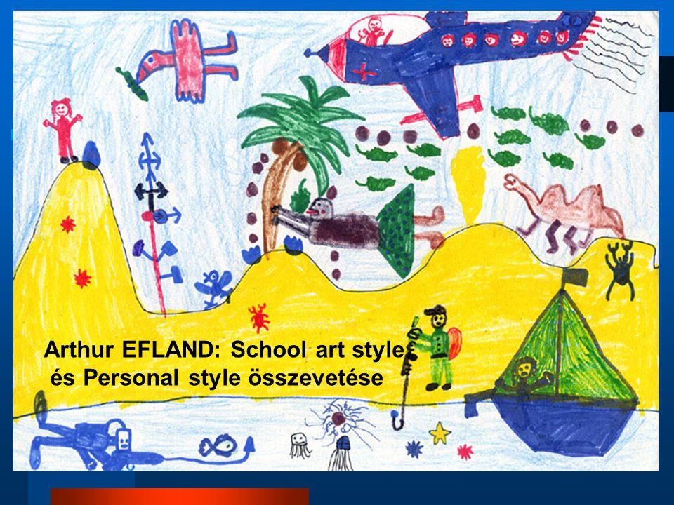 Arthur EFLAND: School art style és Personal style összevetése