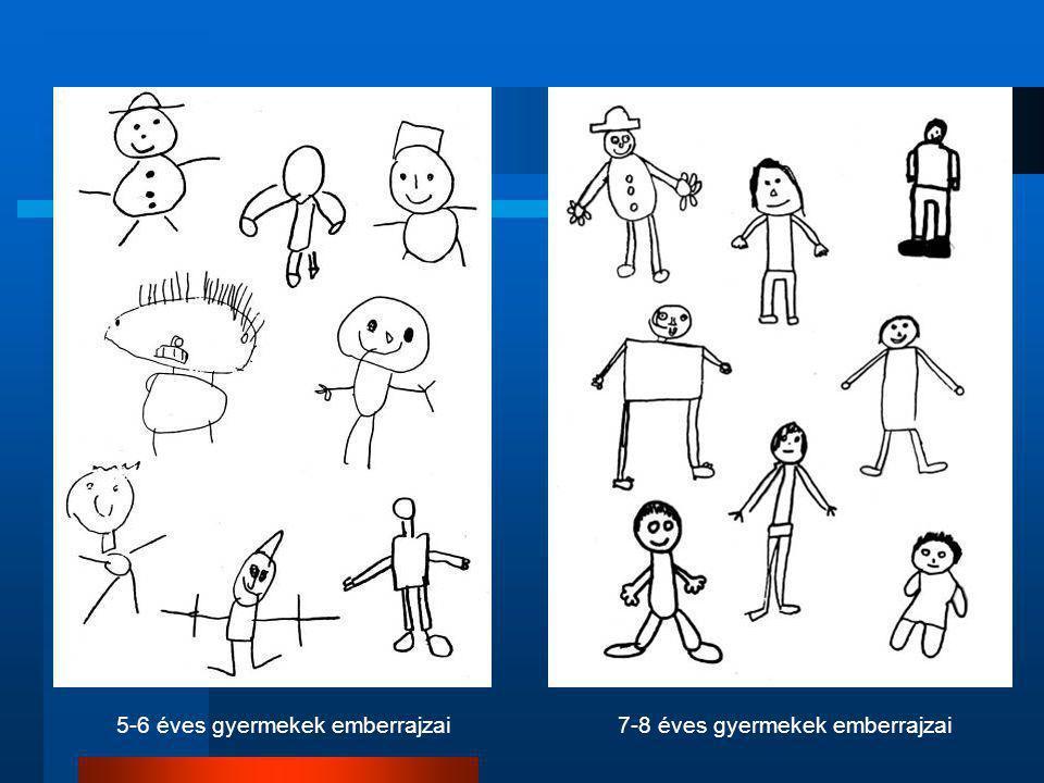 7-8 éves gyermekek emberrajzai5-6 éves gyermekek emberrajzai