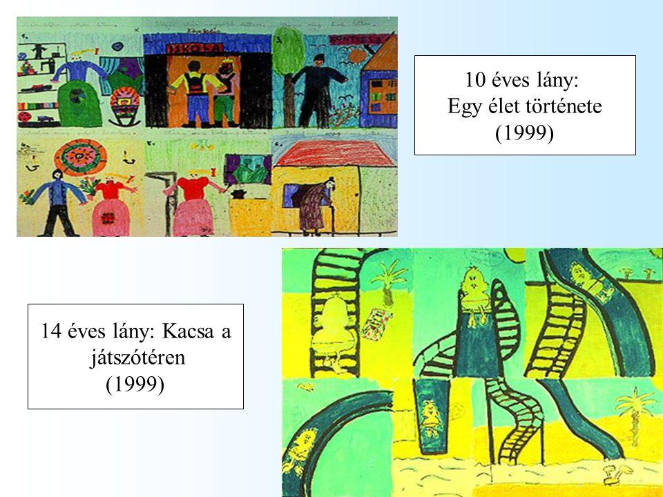 10 éves lány: Egy élet története (1999) 14 éves lány: Kacsa a játszótéren (1999)