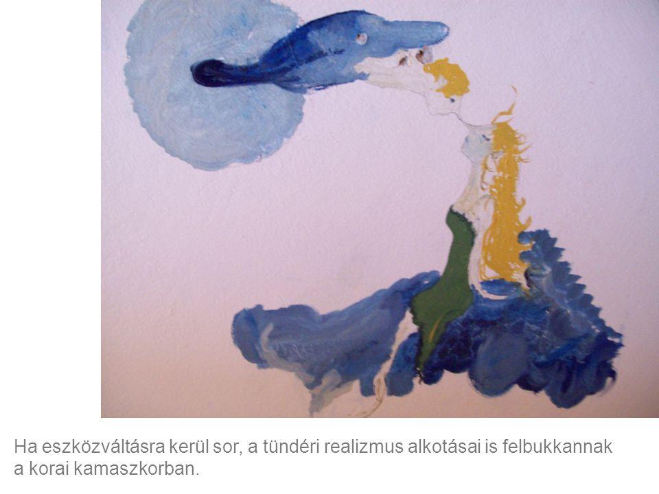Ha eszközváltásra kerül sor, a tündéri realizmus alkotásai is felbukkannak a korai kamaszkorban.