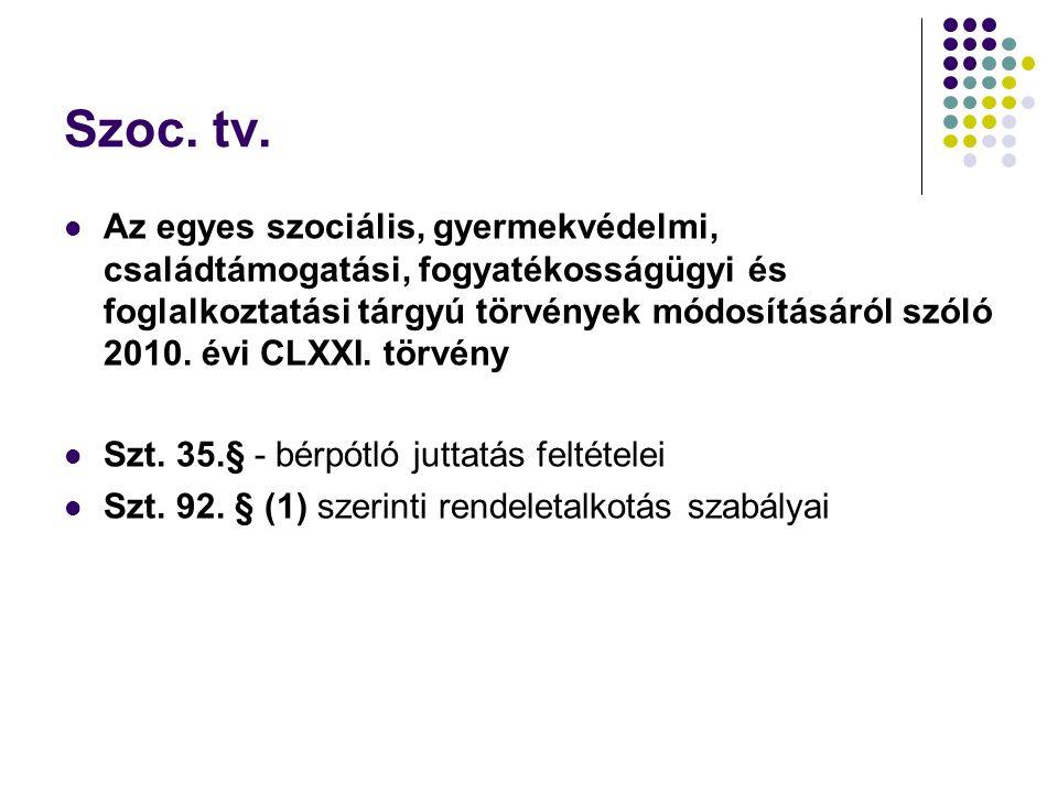 Szoc. tv.