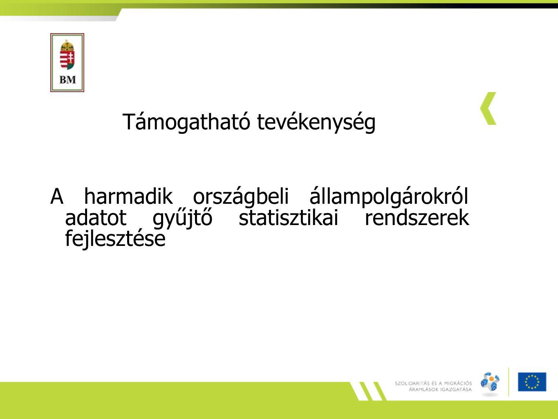Kérdések: integracio@bm.gov.hu Köszönöm a figyelmet!