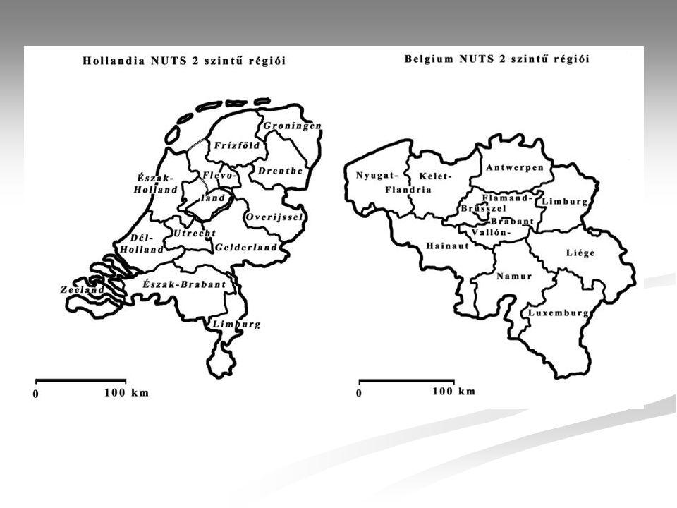 Hollandia Ter ü let (km 2 )41 526 N é pess é g (ezer fő), 2004 16 000 Főv á rosH á ga (442 159 fő, 1997) korm á nyzati k ö zpont Amsterdam (715 418 fő, 1997) kir á lyi sz é khely Á llamformaalkotm á nyos monarchia (kir á lys á g) Hivatalos nyelvHolland P é nznem(1 gulden=100 cent) Euro Nemzetis é gi ö sszet é tel Holland 93,4% Fr í z 2,4% T ö r ö k 1,2% Marokk ó i 0,9% N é met 0,3% Egy é b 1,8% Fő vall á sok Katolikus 36% Protest á ns 26% Mohamed á n 3% GDP/fő (USD), 2004 28 600