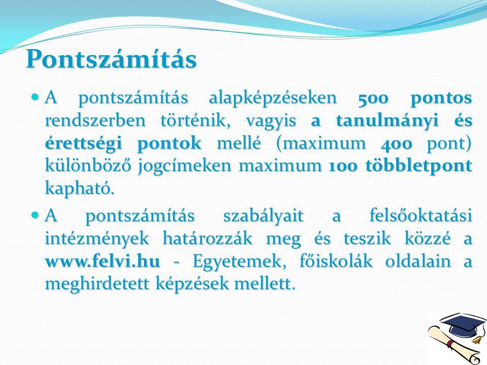 423/2012.(XII. 29.) Korm. Rendelet a felsőoktatási felvételi eljárásról 1.