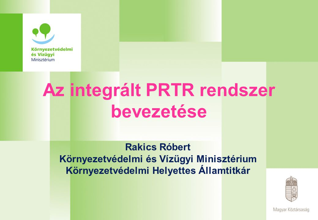 A magyar EPER-PRTR honlap 2004.
