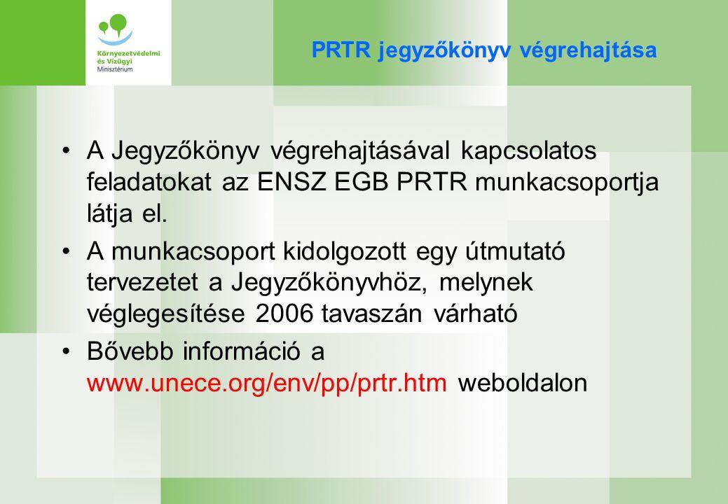 EPER-PRTR Uniós stratégia –1.