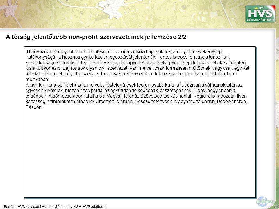 28 Hiányoznak a nagyobb területi léptékű, illetve nemzetközi kapcsolatok, amelyek a tevékenység hatékonyságát, a hasznos gyakorlatok megosztását jelen