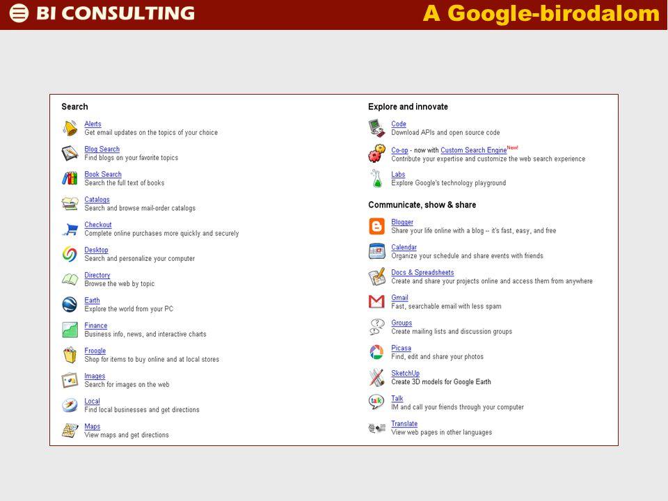A Google-birodalom