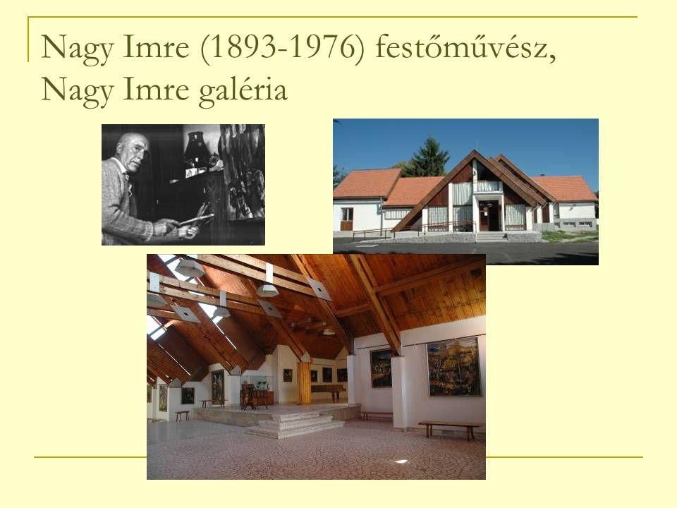 Nagy Imre (1893-1976) festőművész, Nagy Imre galéria