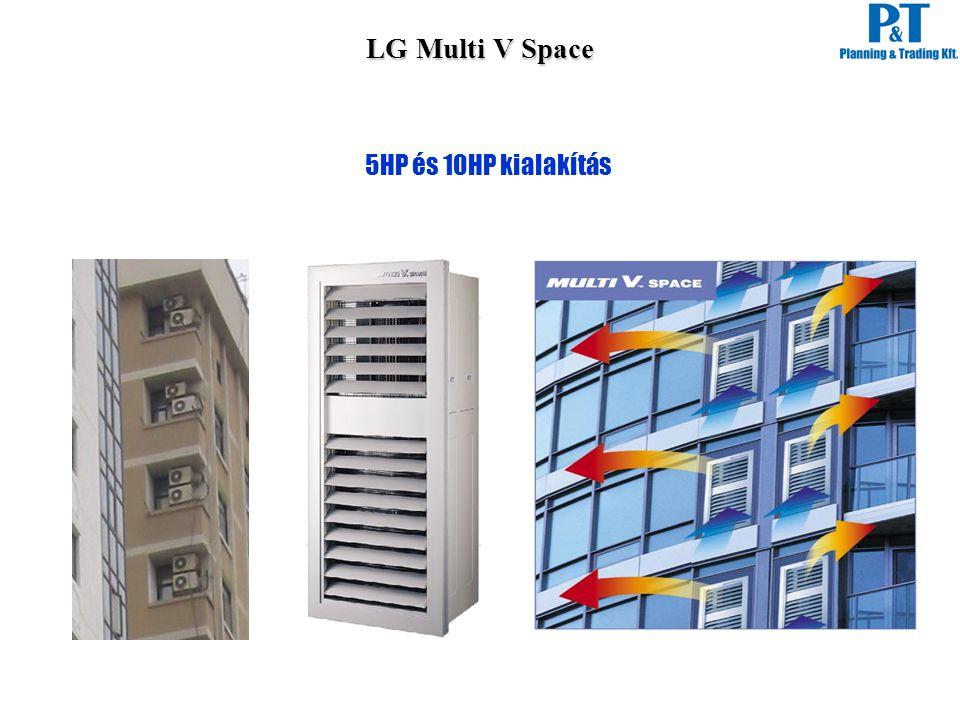 5HP és 10HP kialakítás LG Multi V Space