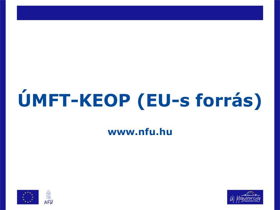 KEOP-2009-4.4.0 Megújuló energia alapú energiatermelés Kik pályázhatnak.
