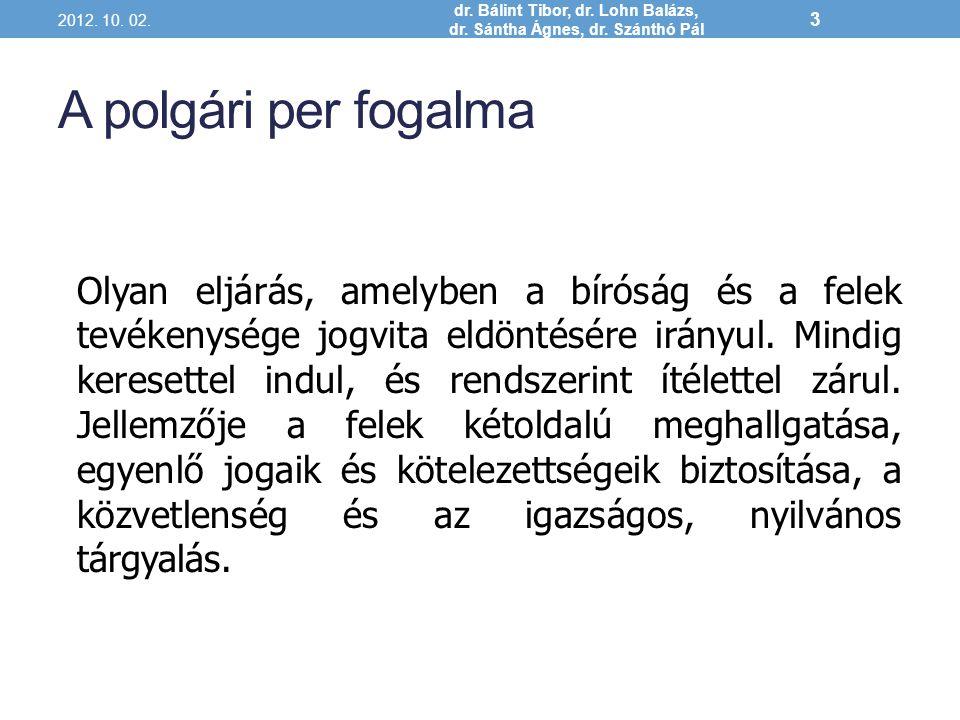 A szabályozás szintjei 2012.10. 02. dr. Bálint Tibor, dr.