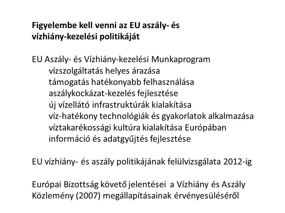 Érvényesíteni kell a Nemzeti Vidékstratégia Duna vízgyűjtő jelentőségű vízgazdálkodási szempontjait az EU Duna Régió Stratégiájában 4.