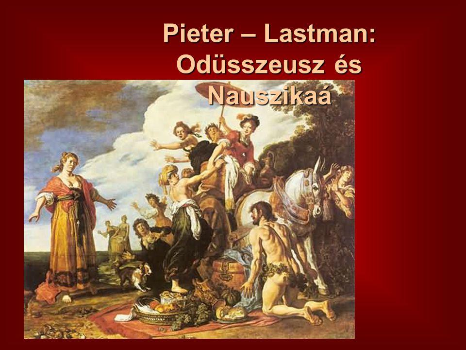 Pieter – Lastman: Odüsszeusz és Nauszikaá