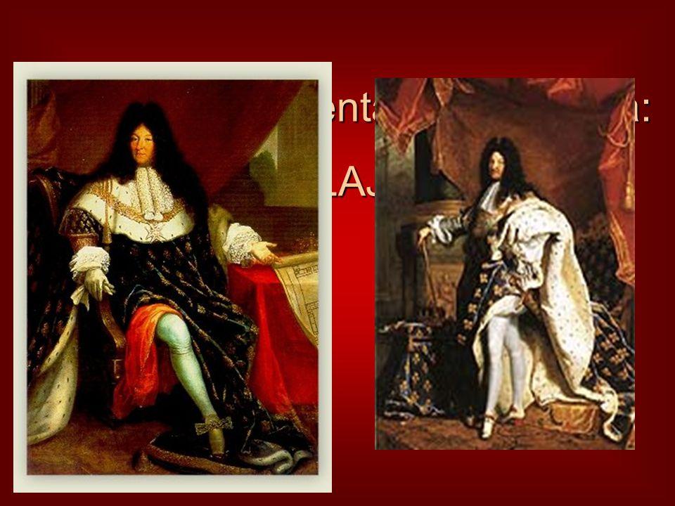 A barokk reprezentáns uralkodója: XIV. LAJOS