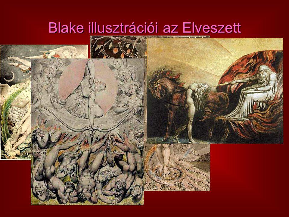 Blake illusztrációi az Elveszett Paradicsomhoz