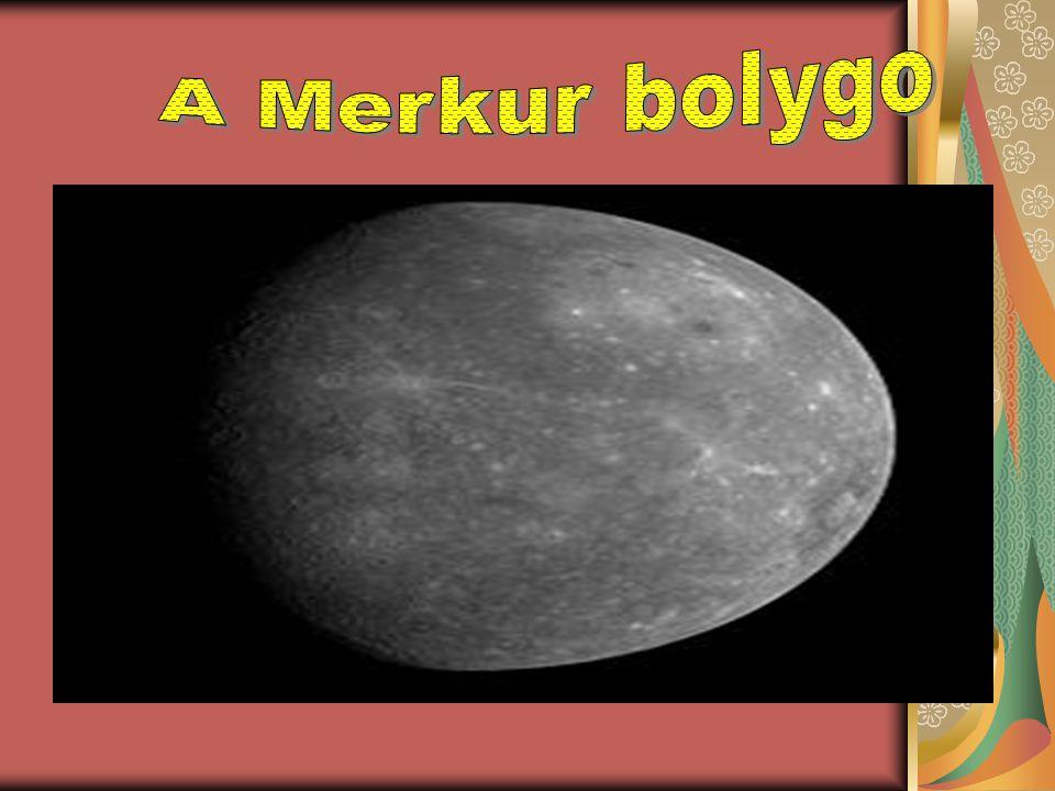 A Merkúr gravitációs tere túl kicsi ahhoz, hogy huzamosabb ideig meg tudjon tartani maga körül gázokat, bár létezik körülötte egy talajközeli exoszféra exoszféra Ennek összetevői között megtalálható a hidrogén, a hélium, az oxigén, a nátrium, a kalcium és a káliumhidrogénhéliumoxigén nátriumkalciumkálium Az exoszféra nem stabil