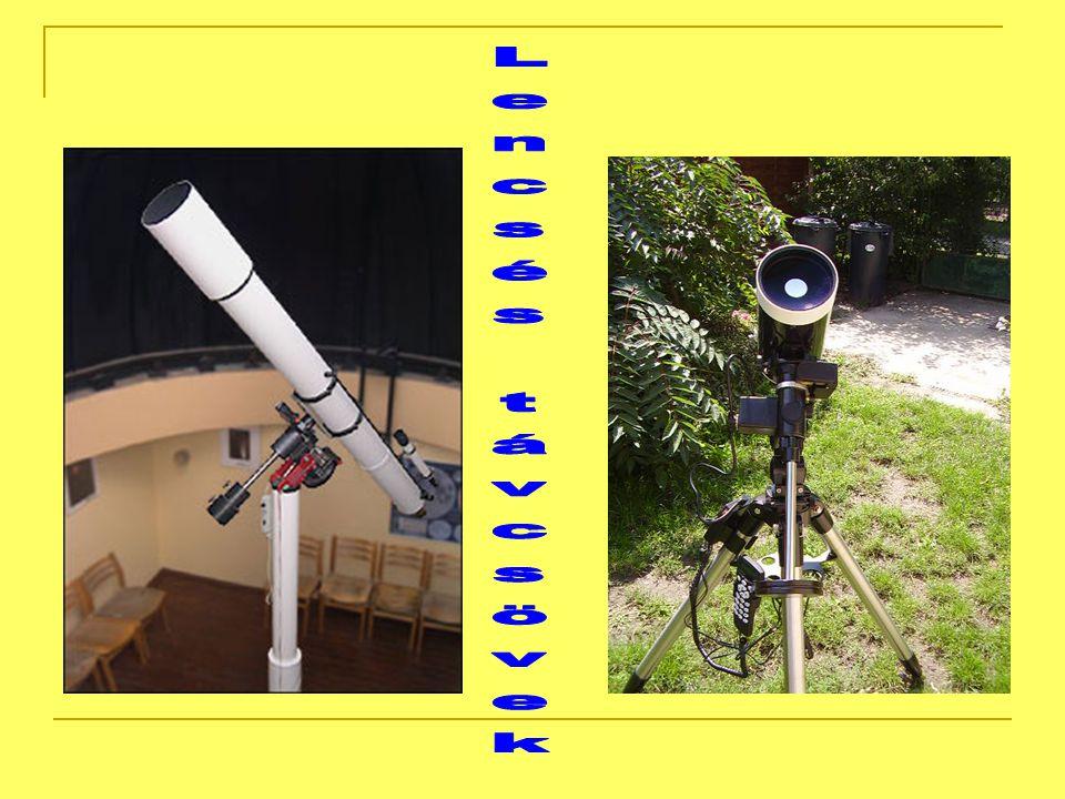 Galilei-féle lencsés távcső A teleszkóp első megjelenési formája holland optikusok, majd Galileo Galilei által 1609-ben, lencsékből felépített távcső volt.