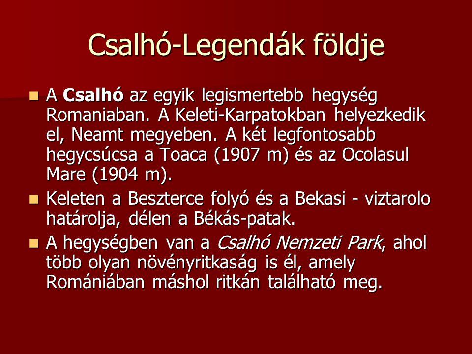 Csalhó-Legendák földje A Csalhó az egyik legismertebb hegység Romaniaban.