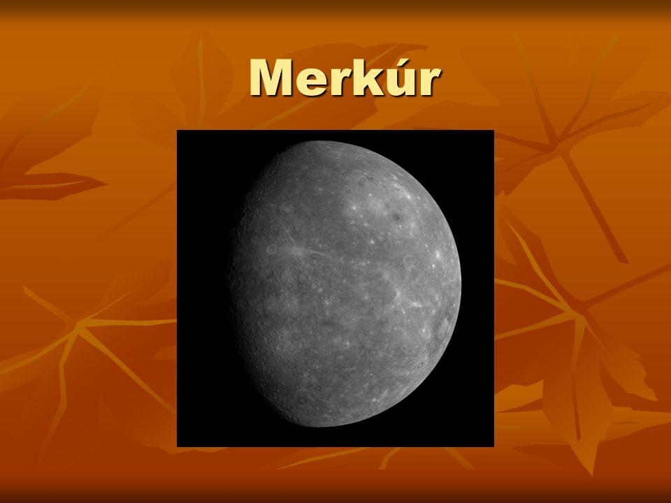 A Merkúr a Naprendszer legbelső és legkisebb bolygója, a Nap körüli keringési ideje 88 nap.