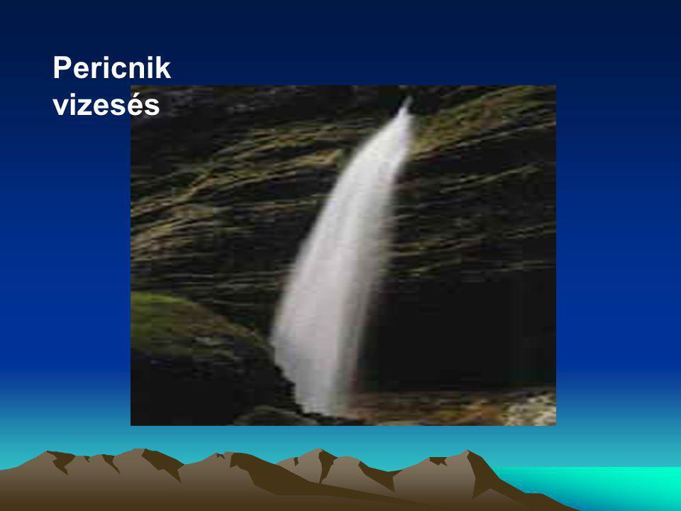 Pericnik vizesés