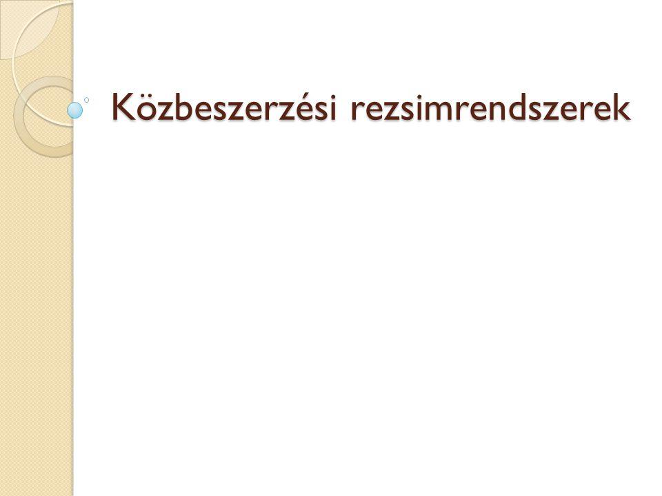 A szabályozás 2009.ápr.