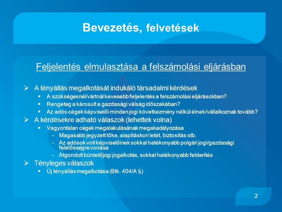 13  Feljelentés a Btk.299.§ gazdasági adatszolg-i köt.