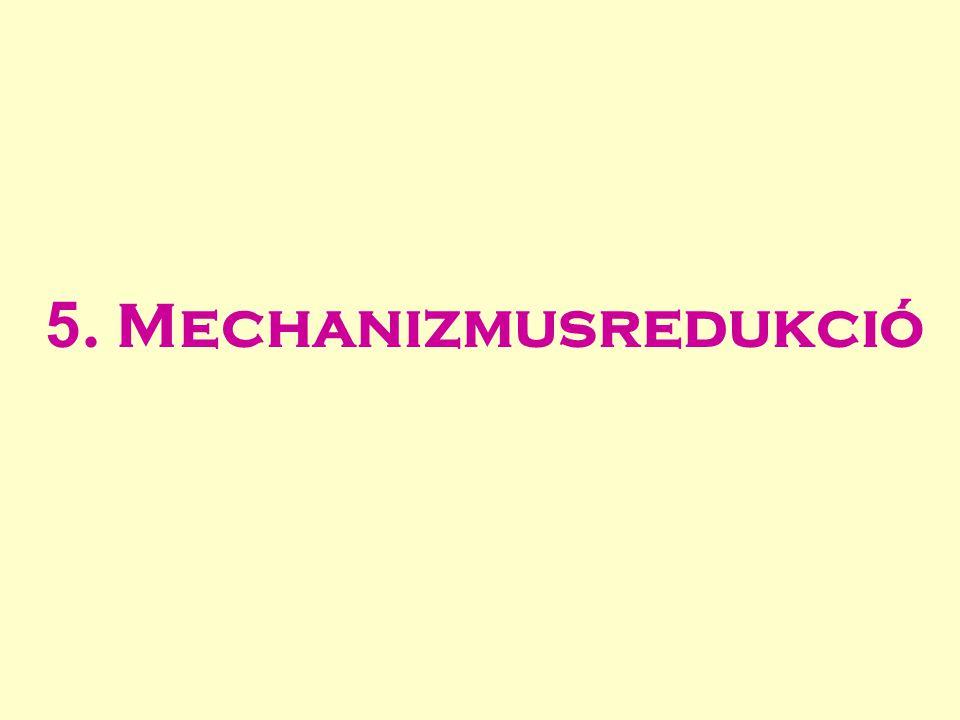 5. Mechanizmusredukció