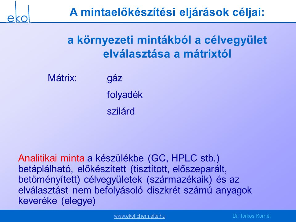www.ekol.chem.elte.huwww.ekol.chem.elte.huDr.