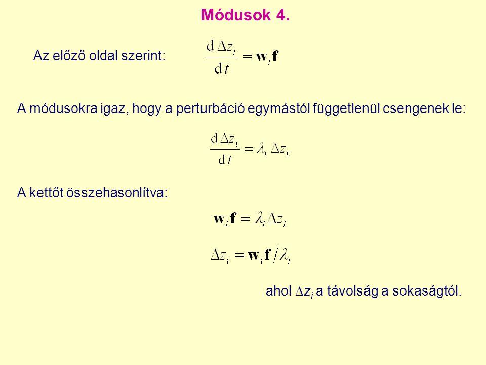 Módusok 4.