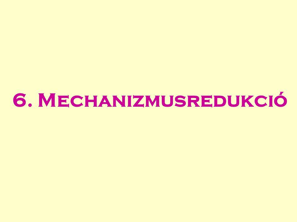 6. Mechanizmusredukció