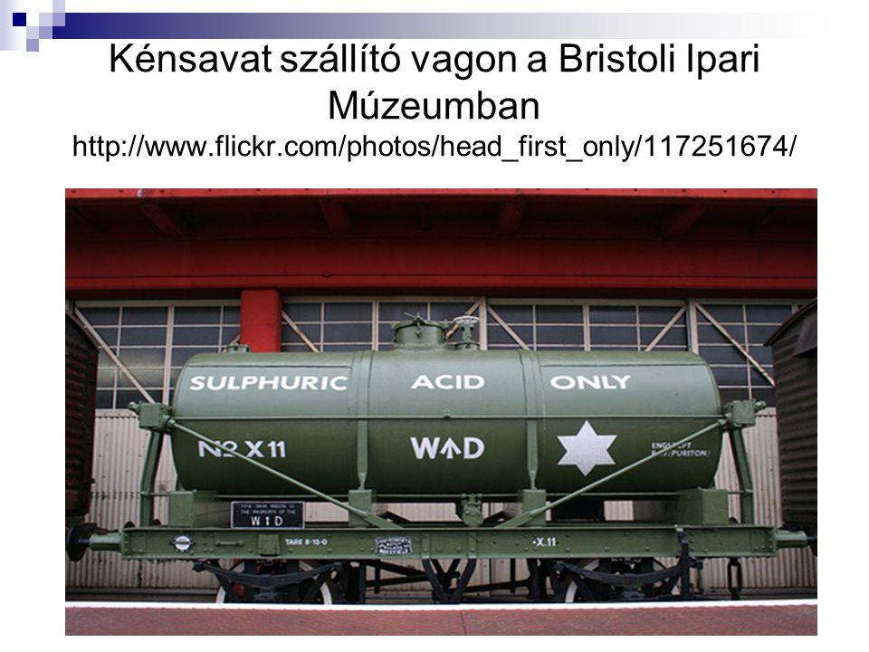Kénsavat szállító vagon a Bristoli Ipari Múzeumban http://www.flickr.com/photos/head_first_only/117251674/