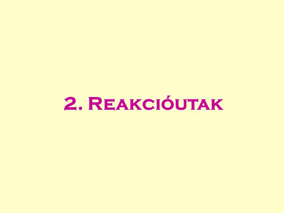 2. Reakcióutak