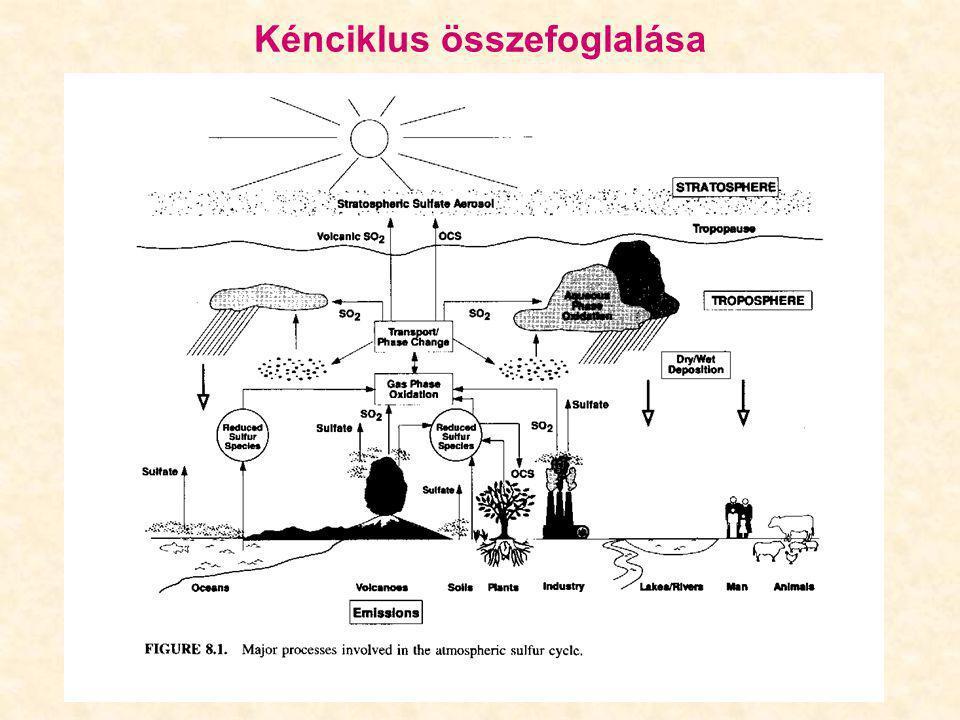 Kénciklus összefoglalása
