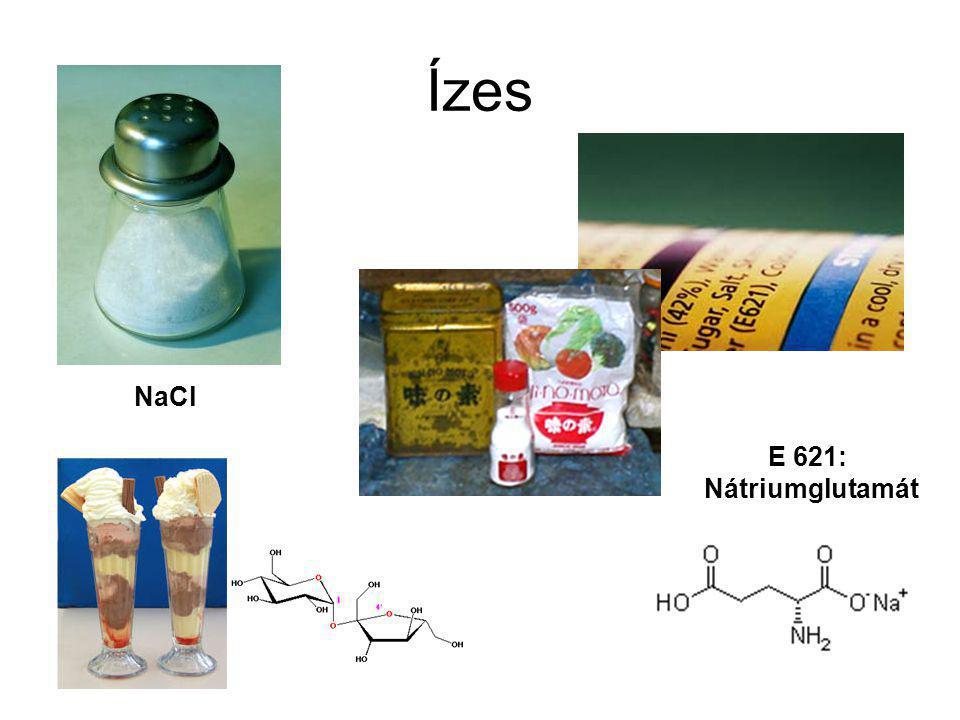 Ízes E 621: Nátriumglutamát NaCl