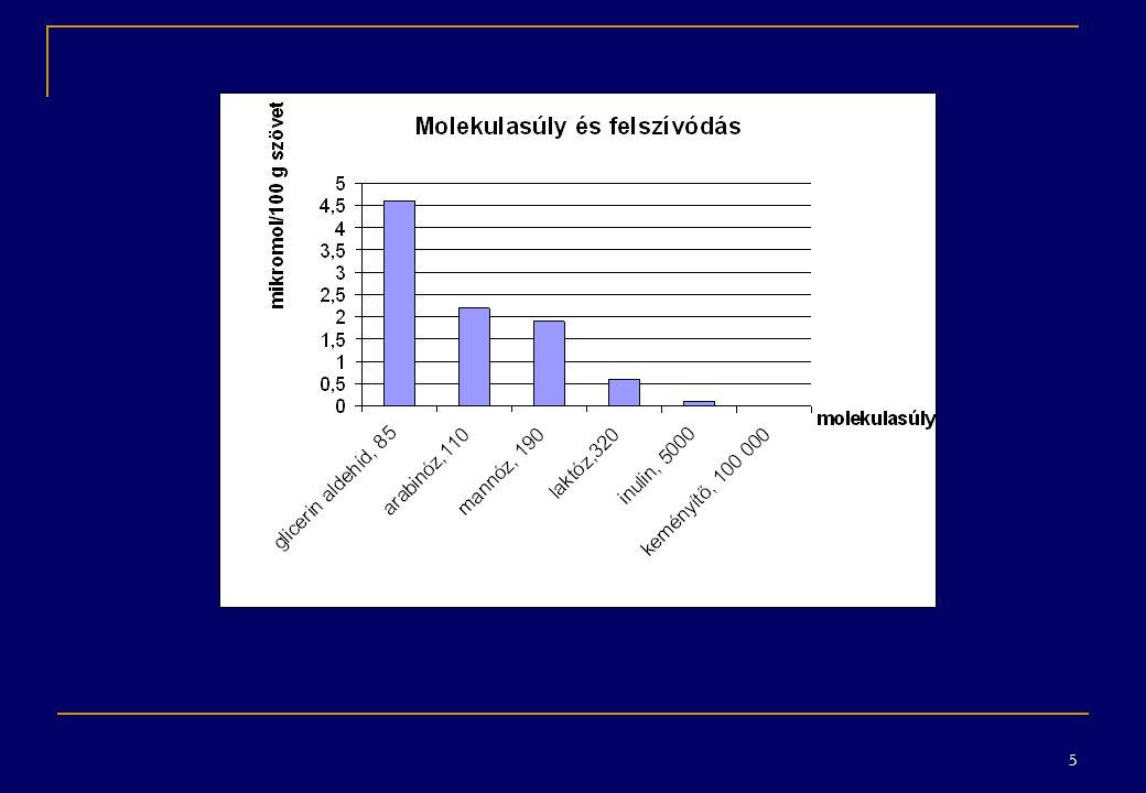 16 gyógyszermolekula erősen lipofillipofilpolároshidrofil metabolikusan stabil felhalmozódás (zsírszövet) I.