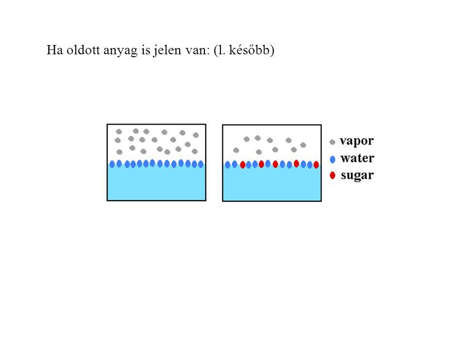 Szublimáció Instant ételek: freeze drying (liofilizálás).