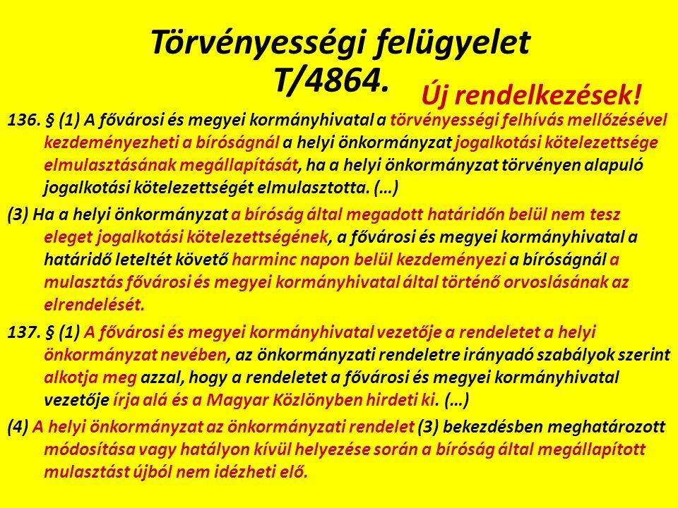 Törvényességi felügyelet T/4864. 136.