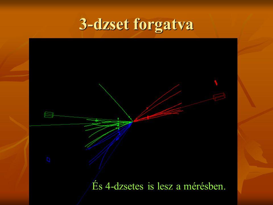 3-dzset A három kvarkos események a kvarkok létének bizonyítékai