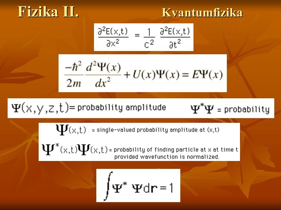 Fizika II. Kvantumelektrodinamika Stimulált emisszió folyamata. Stimulált emisszió folyamata.