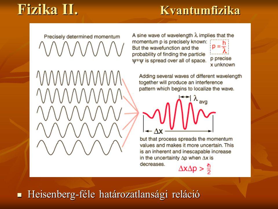 Fizika II.Kvantumelektrodinamika Rubinlézer működésének folyamata 2.