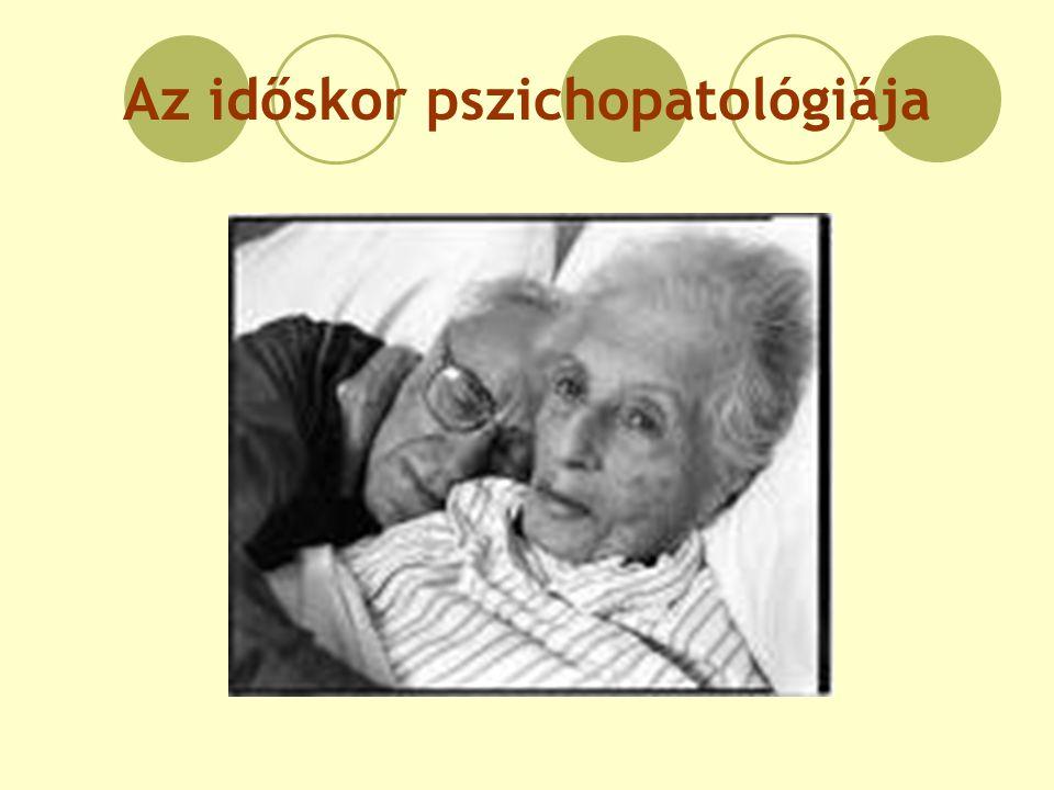 Az időskor pszichopatológiája