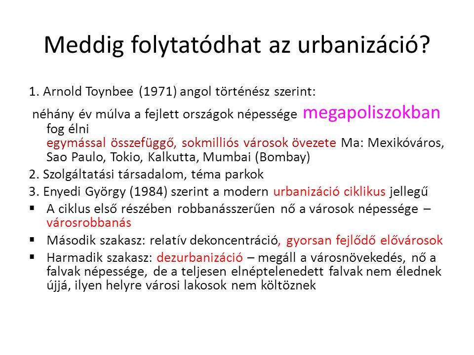 Meddig folytatódhat az urbanizáció.1.