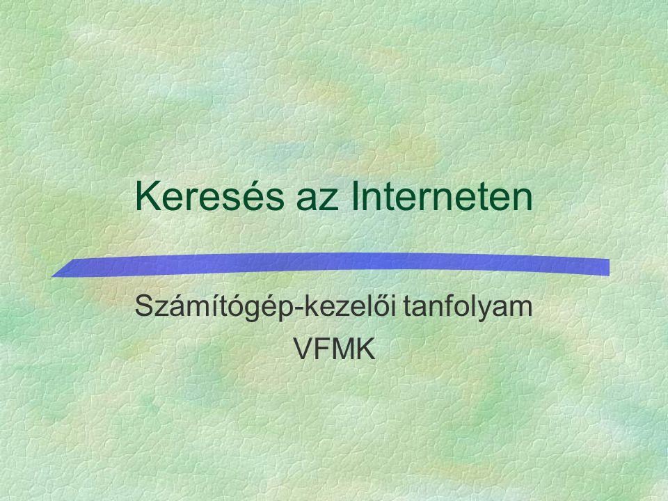Verseghy Ferenc Könyvtár - Szeifertné Balázs Ildikó (szeifert@vfmk.hu) Közhasznú információk I.