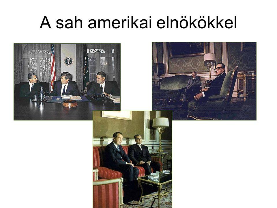 A sah amerikai elnökökkel