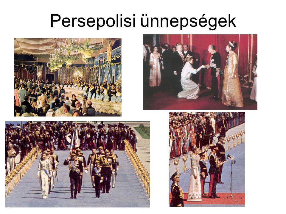 Persepolisi ünnepségek