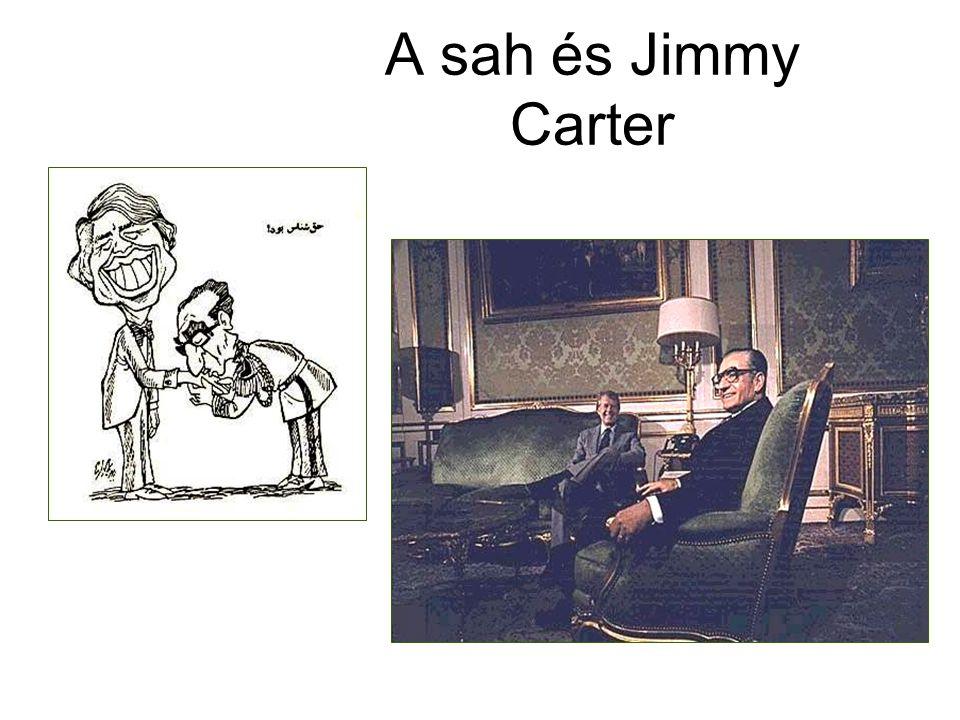 A sah és Jimmy Carter