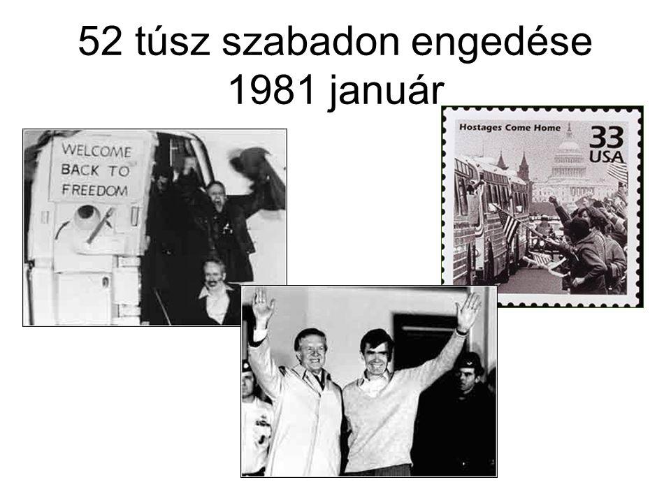 52 túsz szabadon engedése 1981 január