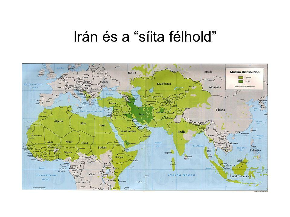"""Irán és a """"síita félhold"""""""