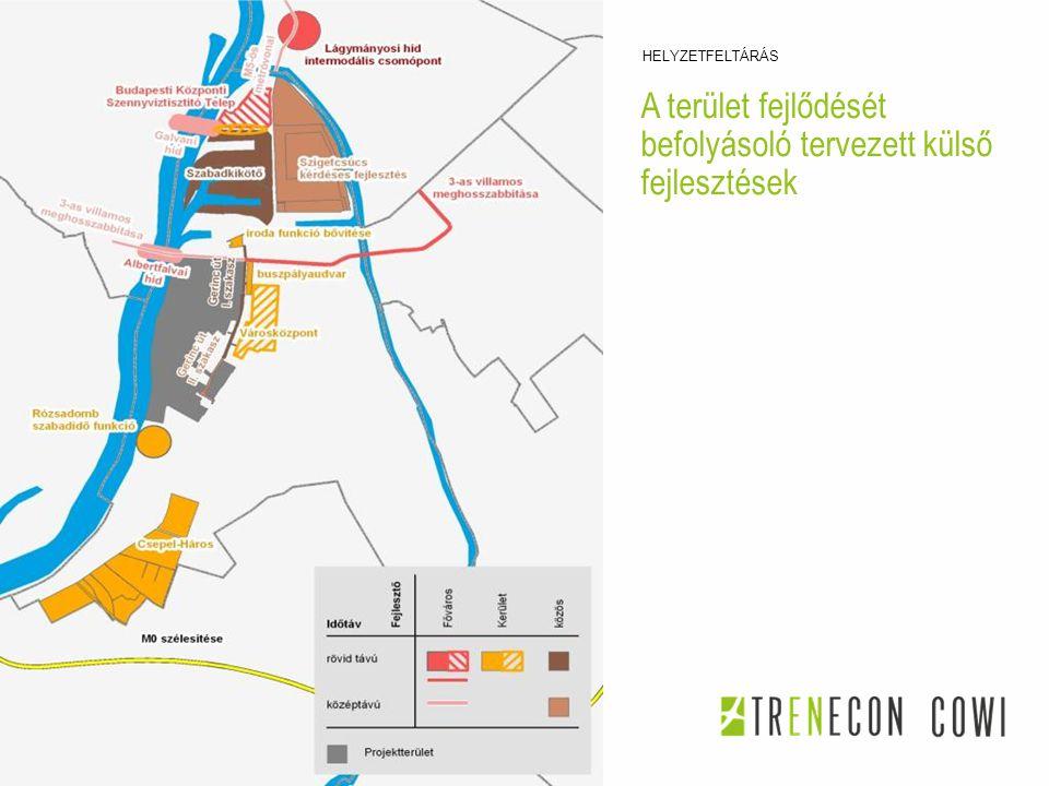 A terület fejlődését befolyásoló tervezett külső fejlesztések HELYZETFELTÁRÁS 2014. 08. 06. TATABÁNYA KÖZLEKEDÉSFEJLESZTÉSI KONZORCIUM 10